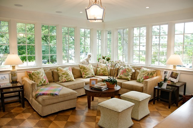 Queen Anne Classic Traditional Sunroom Boston By