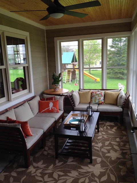 Home Additions Sunroom Decorating Four Seasons Room: Ranch Home Addition With 3-season Porch
