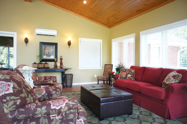 Relaxing Sunroom transitional-porch