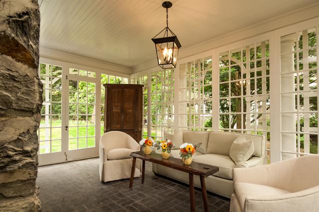 Renovation | Chestnut Hill, PA traditional-sunroom