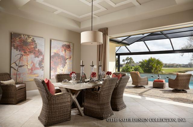 """Sater design collection's 6579 """"delvento"""" home plan   tropisk ..."""