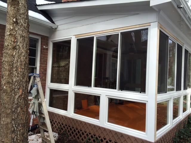 Roof Design Ideas: Screened Porch To Sunroom Conversion In Huntersville, NC