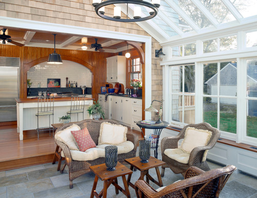 traditional-sunroom The Best Wicker Conversation Sets You Can Buy