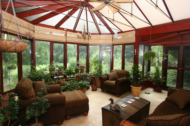 Semi custom victorian conservatory interior 2 for Victorian sunroom designs