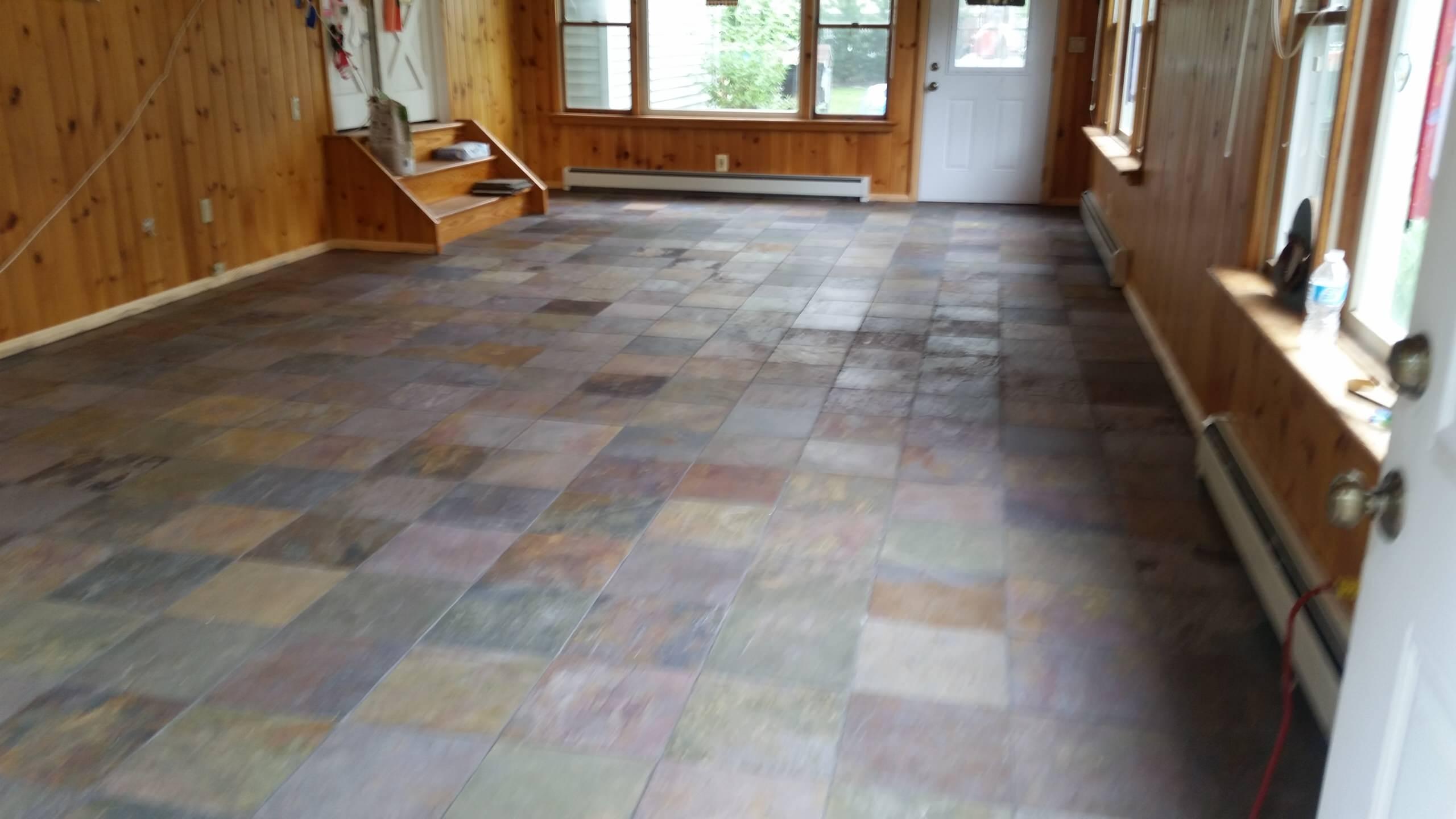 Slate Floor - Holbrook, NY