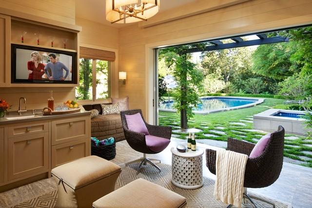 Southern California Homes contemporary-porch
