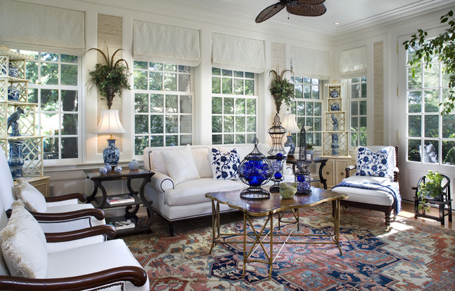 Stately Manor Traditional Sunroom Philadelphia By