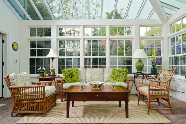Santa Rita Cottage - Traditional - Sunroom - san francisco ...