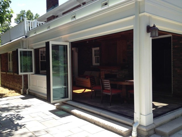 Sun Room Addition Traditional Sunroom Cleveland By