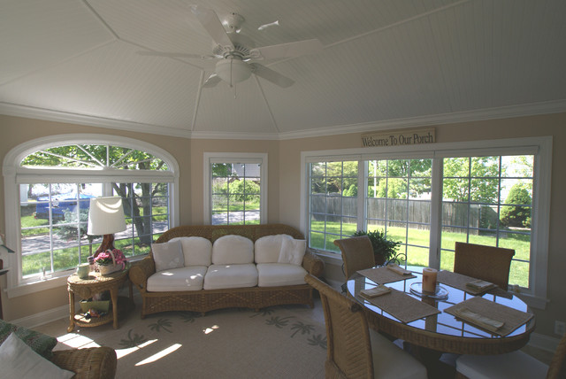 Sun Room Addition In Monmouth County Beach Style