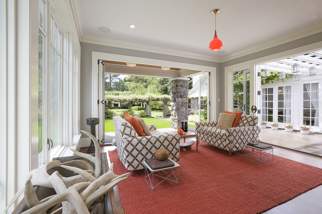 Sun room traditional sunroom portland by emerick for 10x10 living room ideas