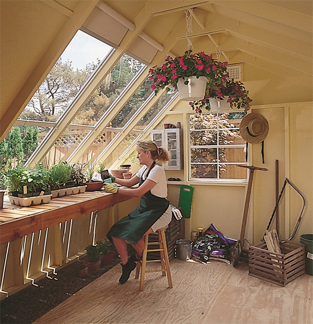 Sun Room Garden Shed Traditional Sunroom Detroit