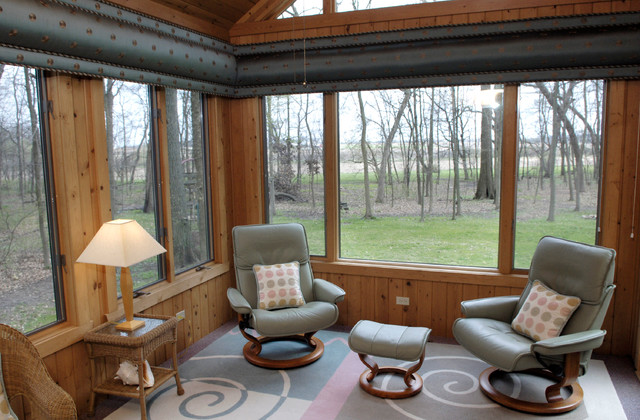Sunroom Contemporary Porch Milwaukee By Beyond