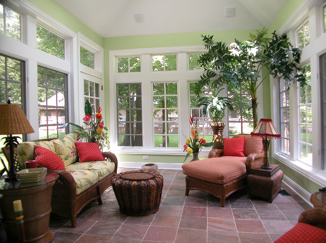 Sunroom Tropical Sunroom