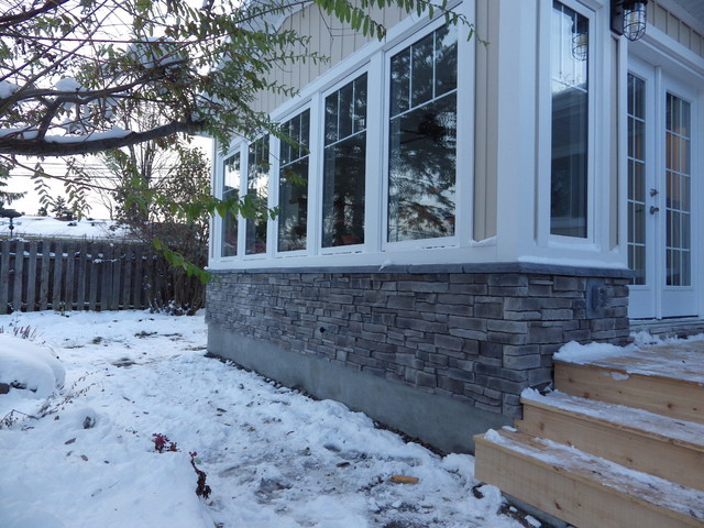 Sunroom project contemporary exterior ottawa by for Exterior by design ottawa