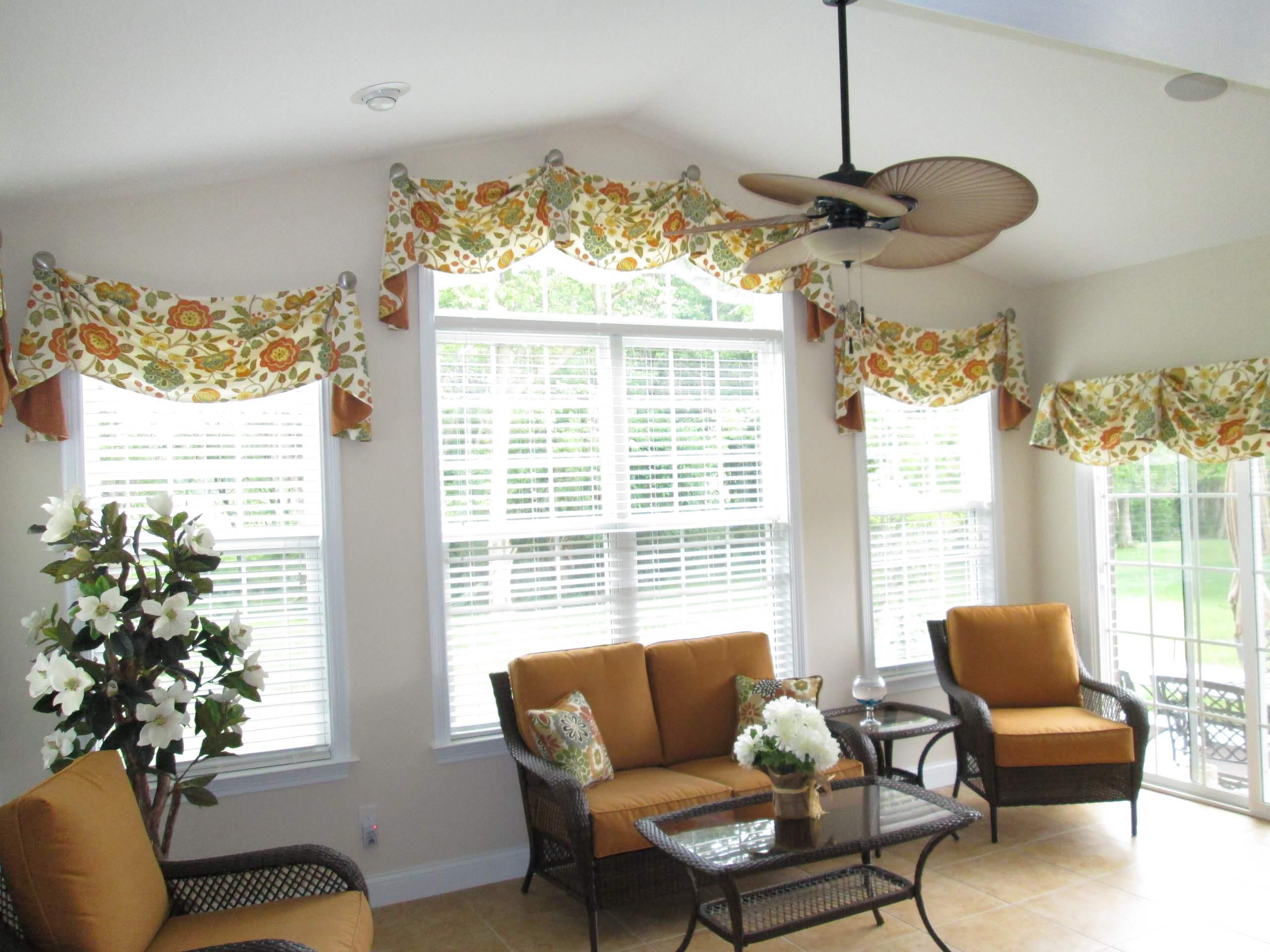 Sunroom Window Treatment Houzz