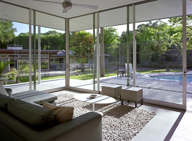 Tarrytown Pavilion Modern Sunroom Austin By Studio Steinbomer