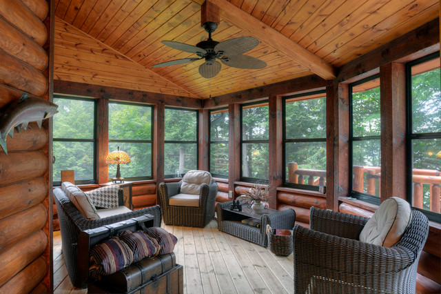 The Beaver Creek Rustic Sunroom Other By Tomahawk