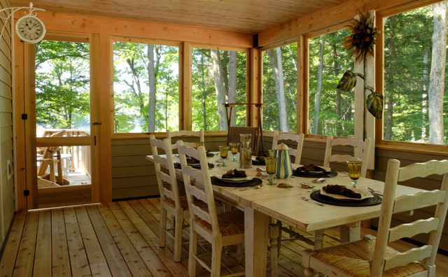 The Carling Model Rustic Sunroom Vancouver By
