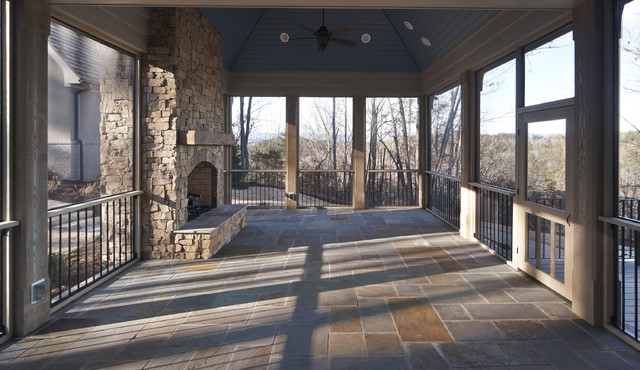 The reserve at lake keowee sc luxury lake home with for Detached sunroom