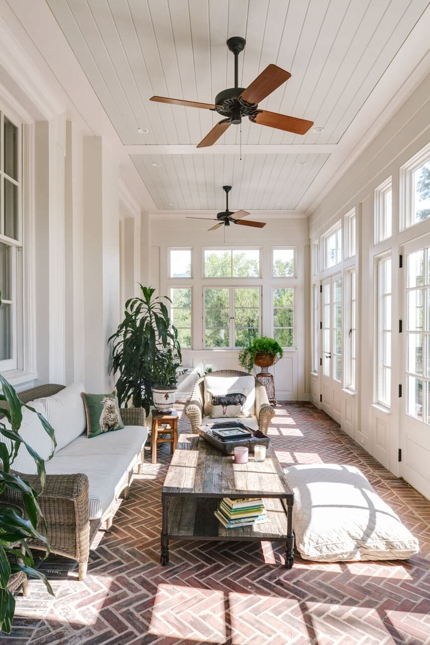 21 Beautiful Traditional Sunroom Pictures & Ideas - September