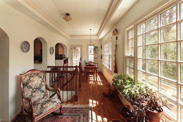 Two Story Addition Sun Room Traditional Sunroom Dc