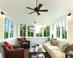 Urban Four-Square craftsman-sunroom