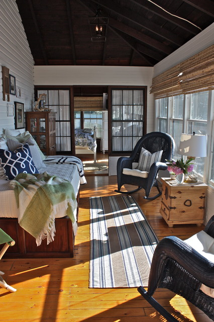 Vermont Cottage eclectic porch