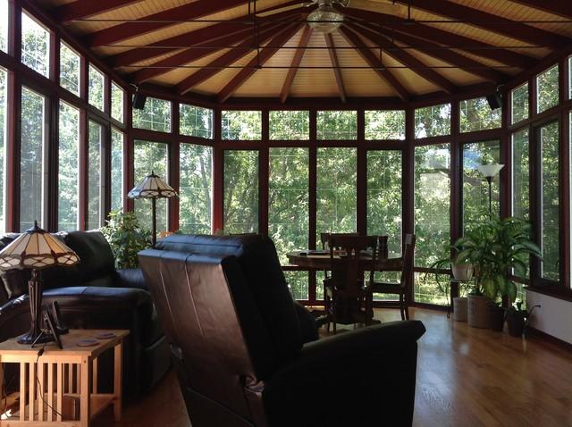 Victorian Sunroom 4 Insulated Roof Interior 2