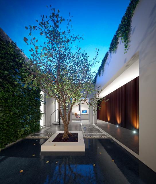 Villa Terrazza - Contemporary - Sunroom - Perth - by Residential ...