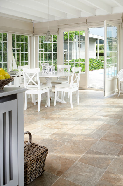 Vinyl Flooring Traditional Sunroom Chicago By