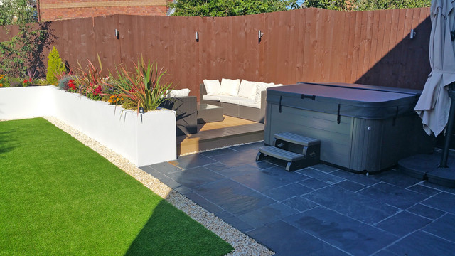 Back Garden Re Design Bradley Stoke Bristol UK