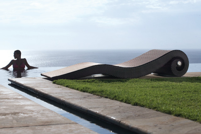 "lounger ""Snail"" by MBM £900 contemporary-pool"