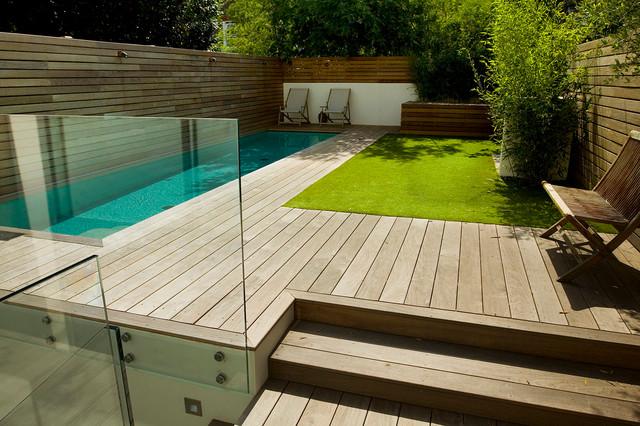 Contemporary Small Garden In Fulham London Contemporary