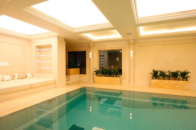 Cornwall terrace modern pool london by iq glass uk for 9 cornwall terrace