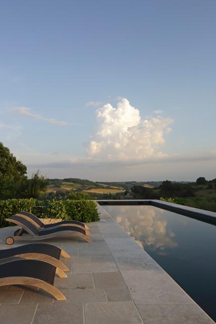 2020地中海花園設計圖片 2020地中海泳池裝修圖片