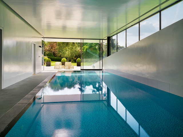Swimming Pool Extension : House remodelling and extension guildford contemporary