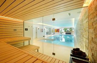 Kung Saunas Installs Contemporary Swimming Pool Hot Tub London By Prestige Saunas Ltd