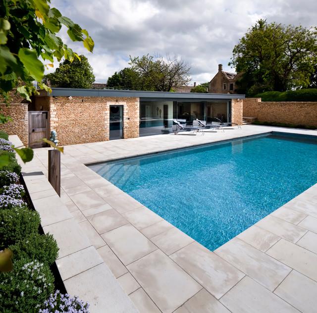 Manor House Refurbishment modern-pool