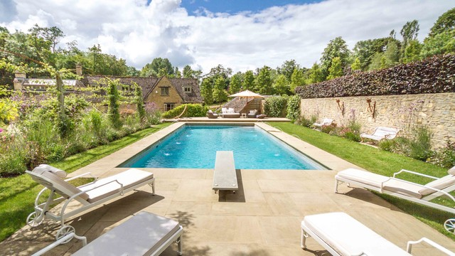 Oxfordshire Traditional Swimming Pool Hot Tub London By Jonathan Snow Design