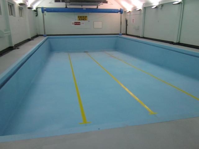Polyurea And Polyaspartic Coatings For Huddersfield Swimming Pool Refurbishment Modern Pool