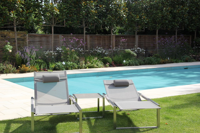 Pool garden in north london for Pool design london