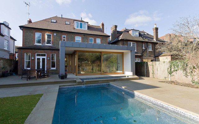 Private residence putney london contemporary - Houses with swimming pools in london ...