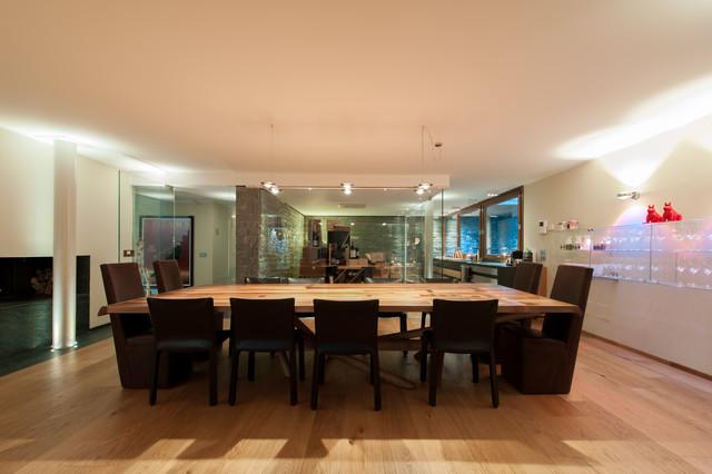 Casa psn moderno taverna milano di studio melesi officina d 39 architettura - Taverna di casa ...