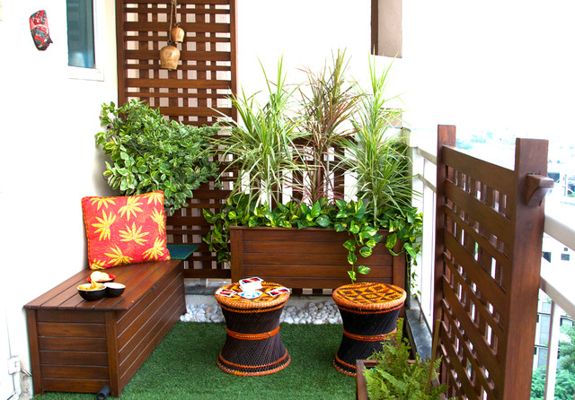 Balcony For Two asiatisk-balkong