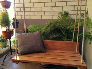 Balcony makeover for Terrace 6 indore address