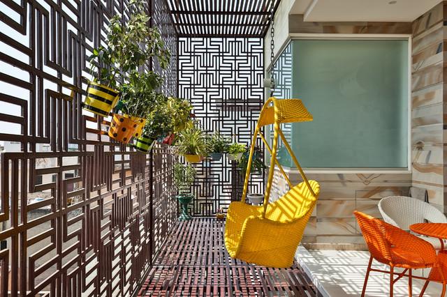 Casa Bonita contemporary-balcony