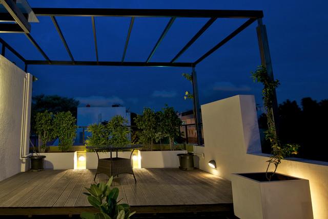 M3 House contemporary-terrace