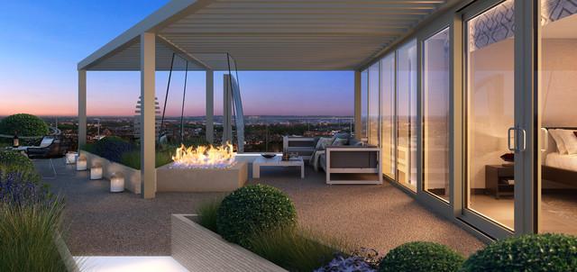 Chelsea Creek Penthouse Roof Terrace - Contemporary - Deck ...