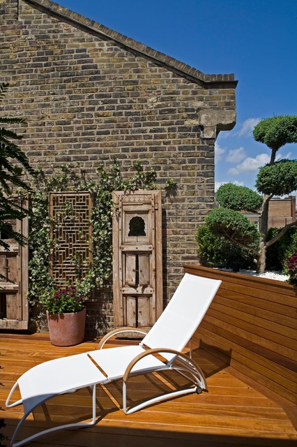 Chelsea house no 3 contemporary terrace london by for Roof terrace definition
